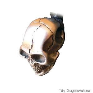 Bilde av Anheng: Dødningehode -30mm Tinn