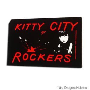 Bilde av Klistremerke: Emily Kitty City Rockers