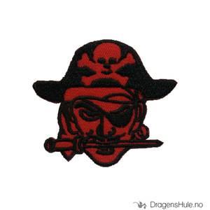 Bilde av Stoffmerke: Rød Pirat