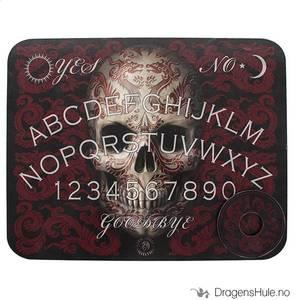 Bilde av Ouija: Spiritismebrett -Anne Stokes: Oriental Skull