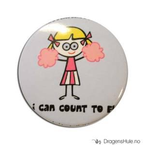 Bilde av Button 37mm: Blöndie: I can count to F!