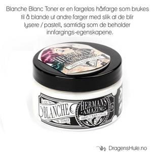 Bilde av Hårfarge:  Blanche Blanc Toner/Mixer -Hermans Amazing