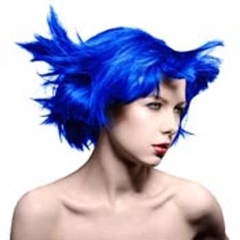 Blå hårfarger