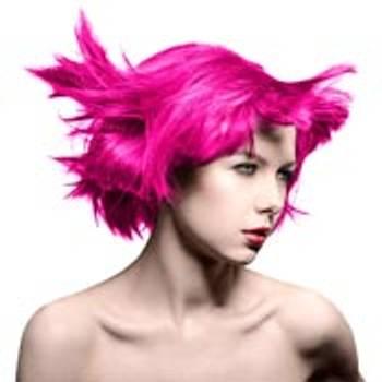 Rosa hårfarger