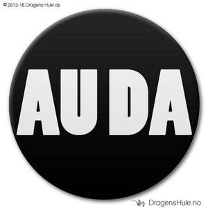 Bilde av  Button: AU DA (velg farge)